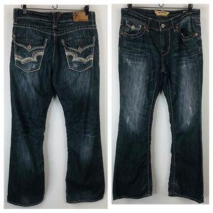 Men's Big Star Distressed Orion Slim Boot Jeans